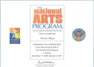 The National Arts Program